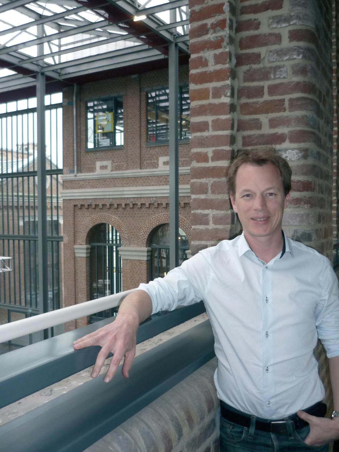 Guillaume Spriet apprécie son hébergement à EuraTechnologies. Il y rencontre de nouvelles sociétés ce qui rompt son isolement de créateur et il bénéficie d'une ambiance propice au développement commercial sur le web.