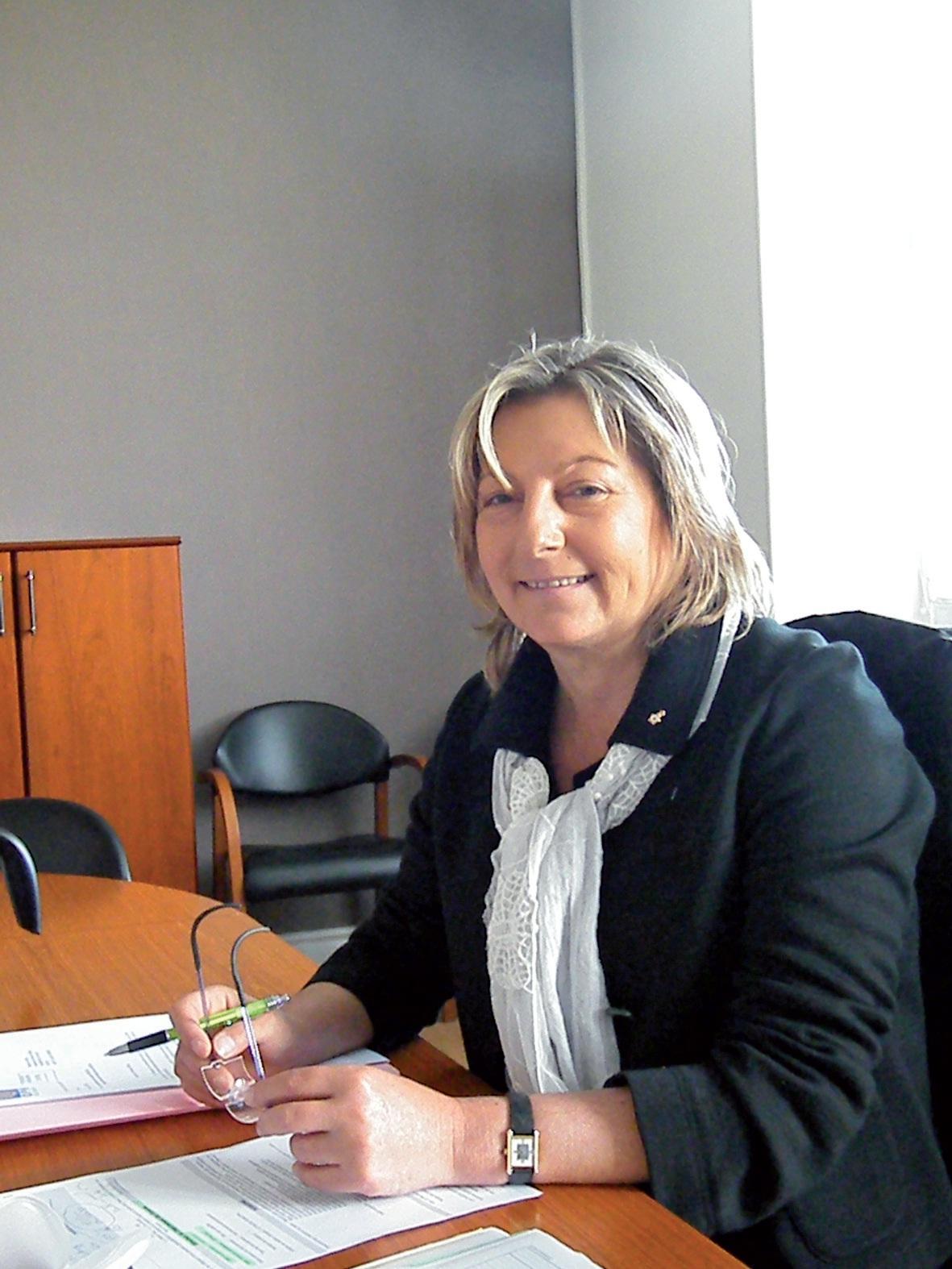 Natacha Bouchart, sénatrice-maire de Calais, vice-présidente de Cap Calaisis.
