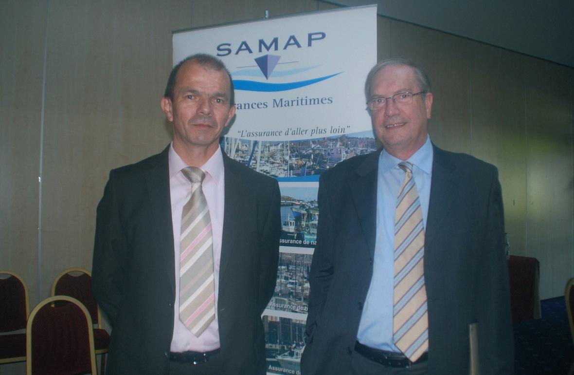 Le directeur Bernard Bordenave, au côté de son président, l'armateur boulonnais Jean-Marc Le Garrec.Le directeur Bernard Bordenave, au côté de son président, l'armateur boulonnais Jean-Marc Le Garrec.