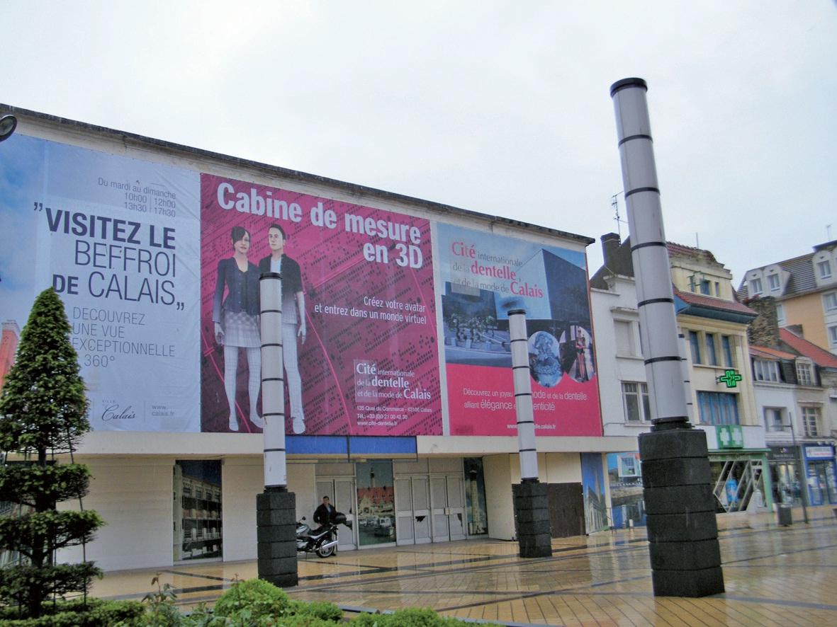 La nouvelle Ecole d'art de Calais investira l'ancien Monoprix en centre-ville.