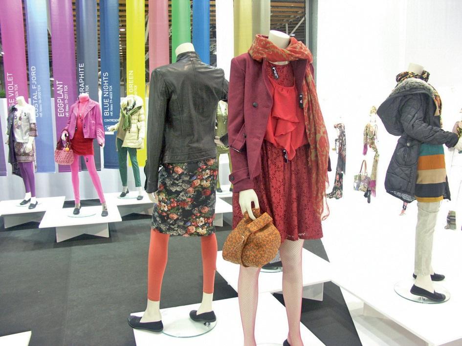 L'actualisation des collections de l'hiver 2012/2013 était encore possible grâce aux exposants du salon.