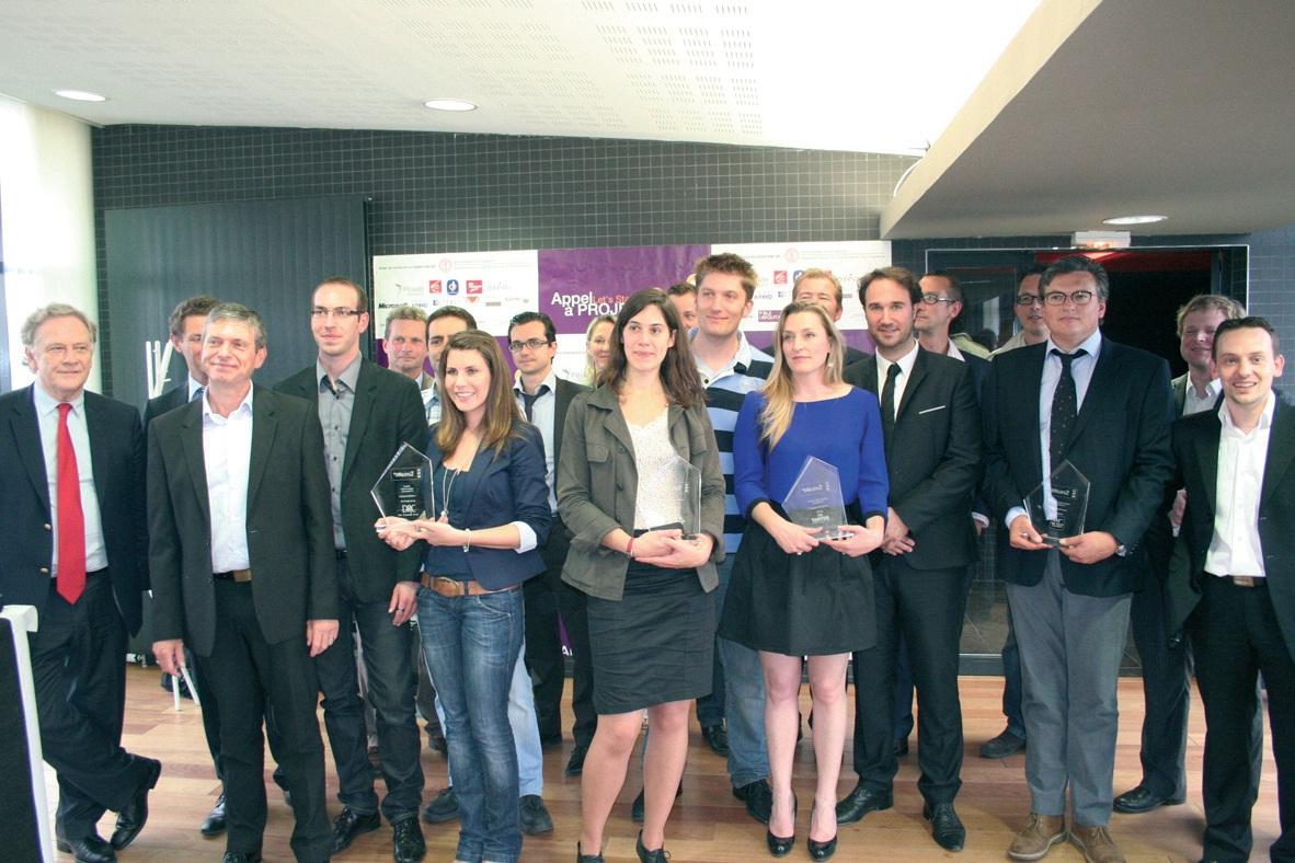 Les lauréats du 2e appel à projets Let's Start IT.