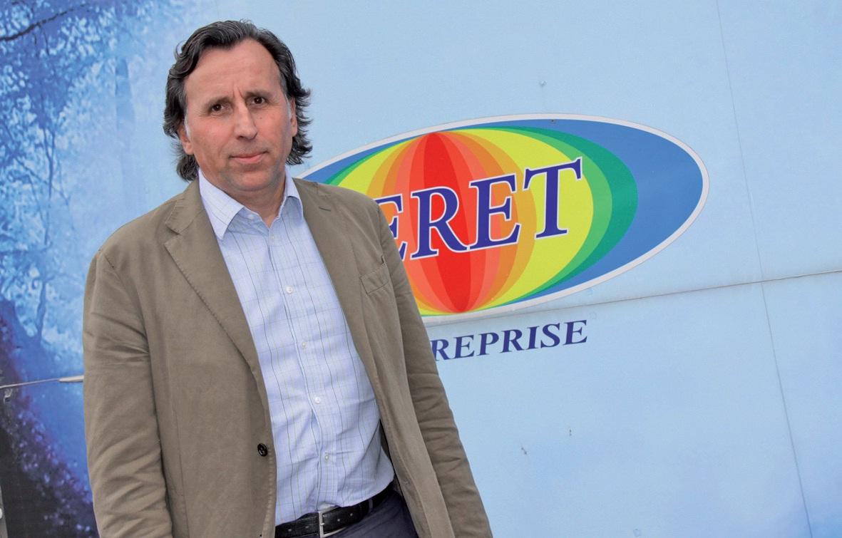 Patrick Véret, président de la FFB Artois, est par ailleurs dirigeant de l'entreprise Véret à Beaurains, spécialisée dans le second oeuvre bâtiment (peinture intérieure et extérieure, revêtements muraux et sols, isolation thermique).