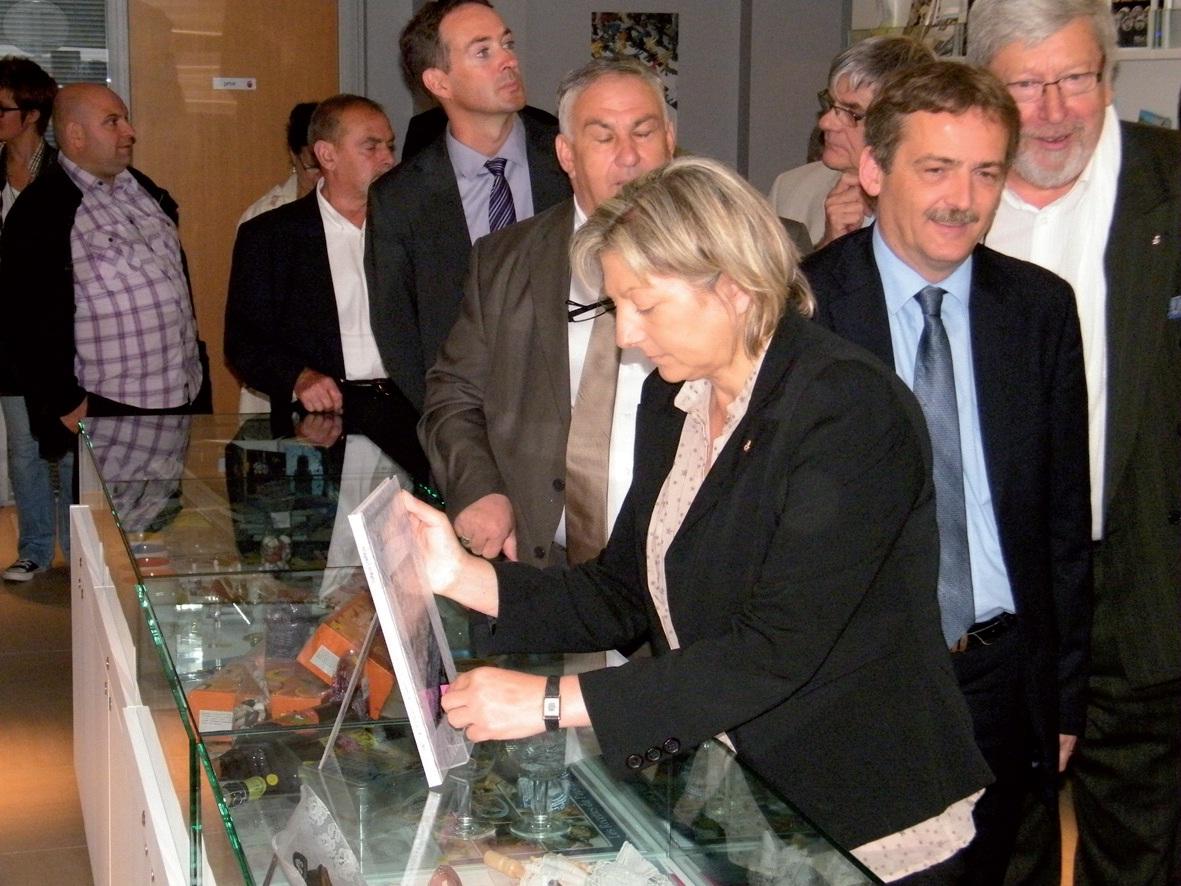 Inauguration de l'Officie de tourisme intercommunal du Calaisis.