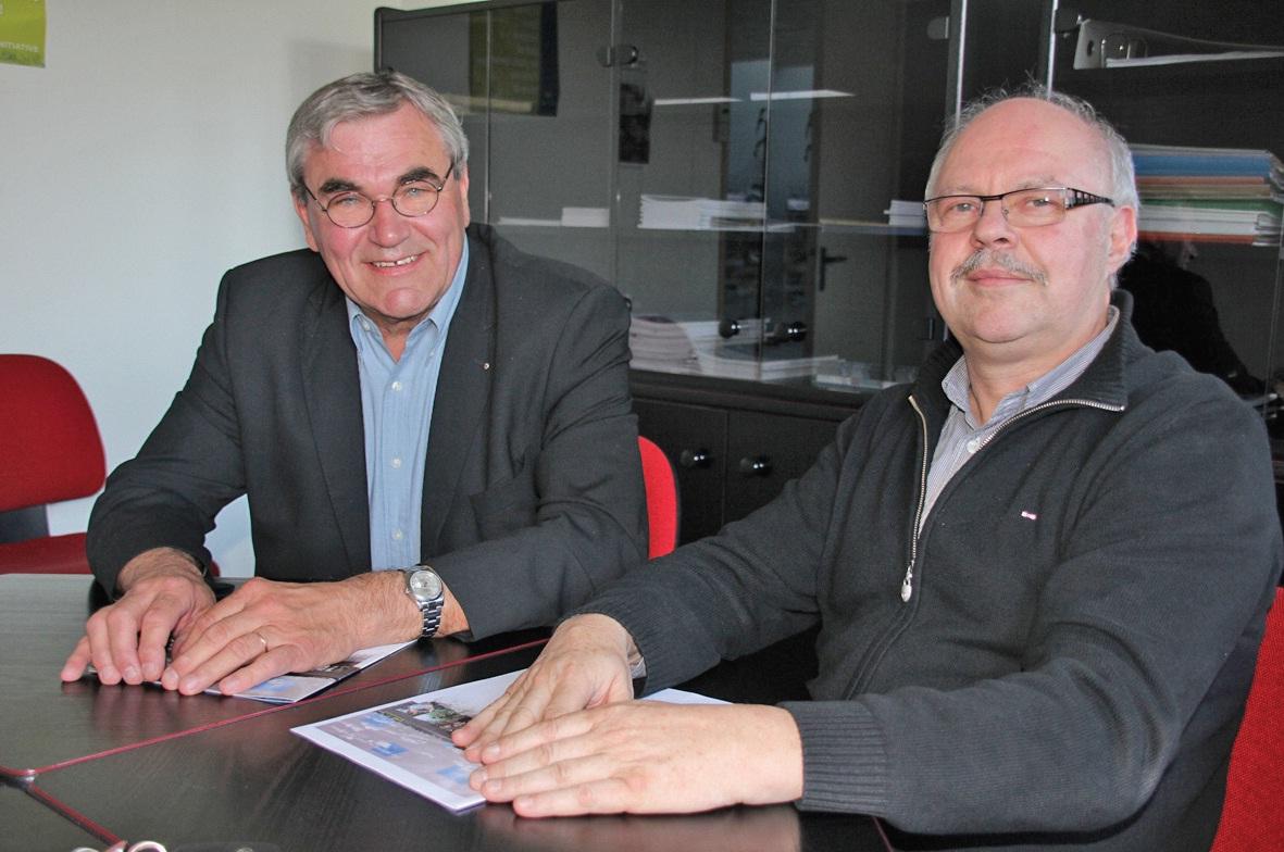 Claude Kosiada et Pierre Maerten, un duo complémentaire à la tête d'Artois initiative.