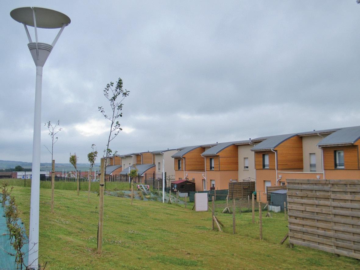 26 logements de fonction ont été construits.
