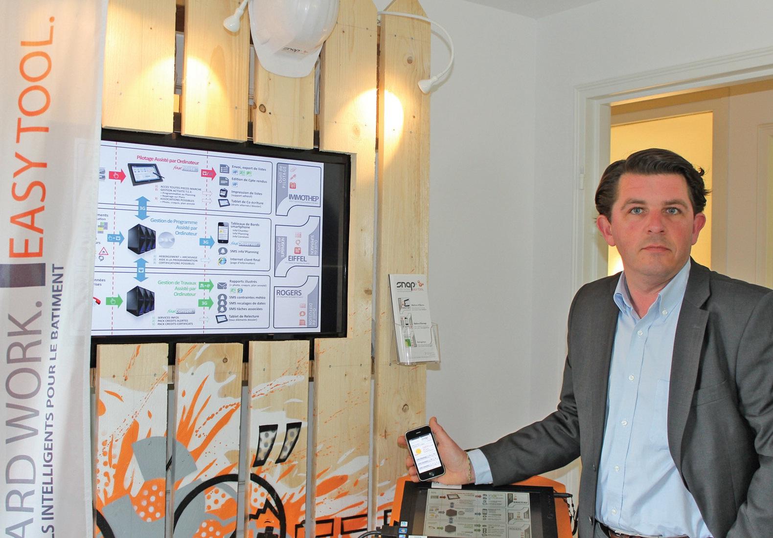 David Deliers a confiance dans un projet ambitieux et particulièrement novateur.