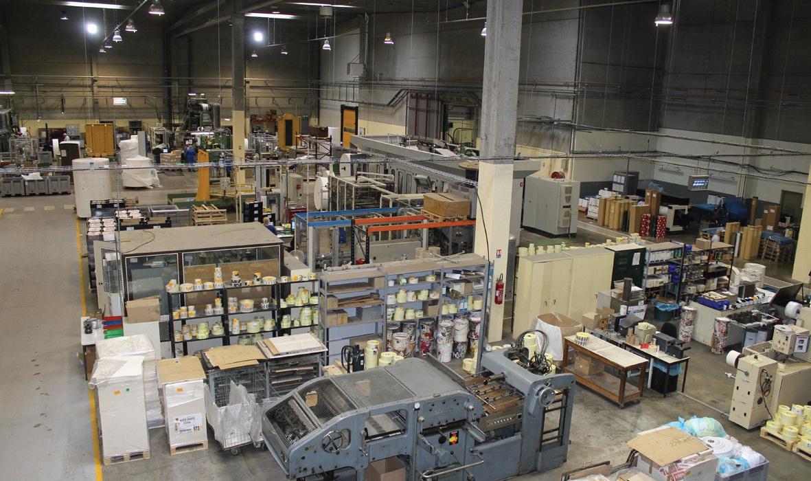 Toutes les activités sont concentrées sur 10 000 m2 couverts.