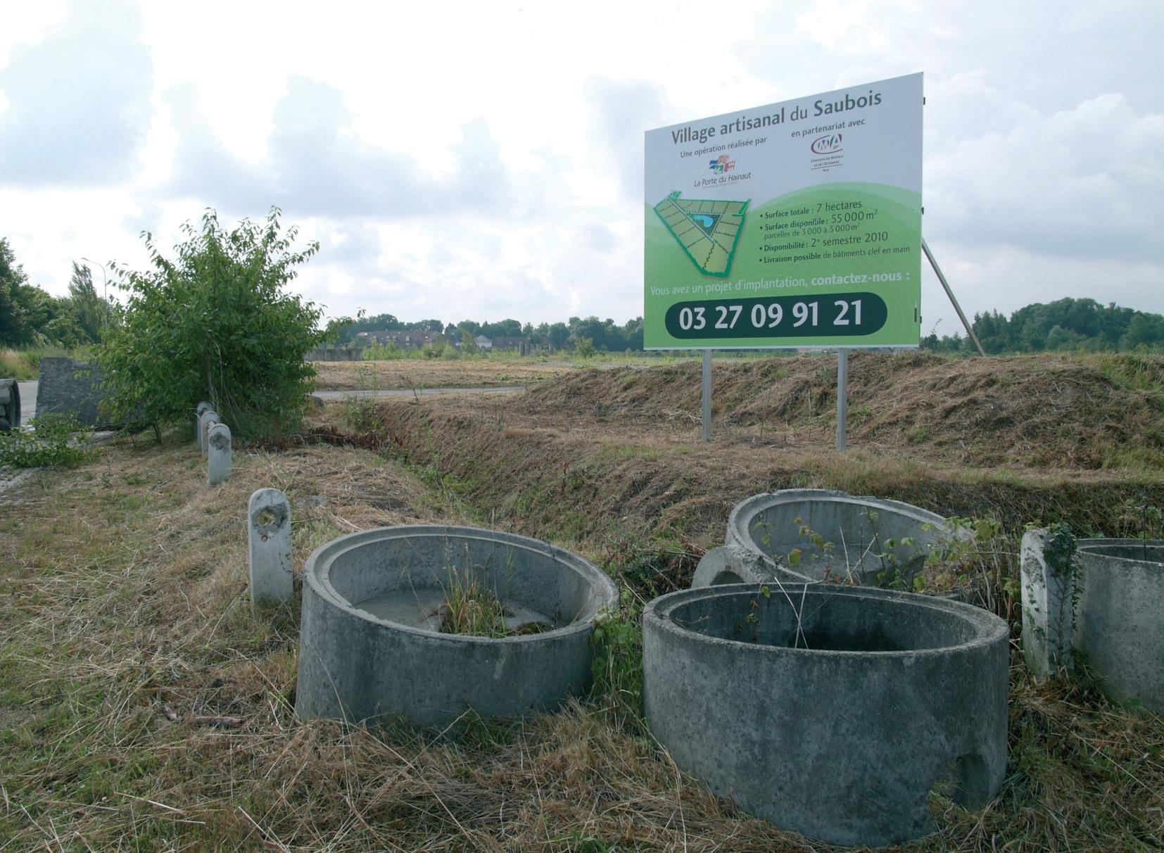 La friche Bona à Saint-Amand-les-Eaux va devenir village d'artisans, une bonne opportunité pour l'installation de jeunes TPE.