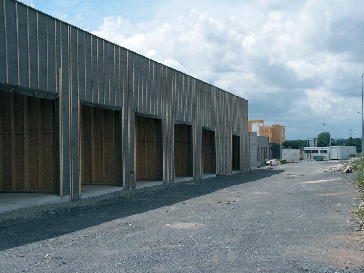 Ce chantier, lancé en juillet 2011, avance bien. Ce pôle de services aux entreprises et aux créateurs/repreneurs bénéficiera au sud de l'Avesnois.