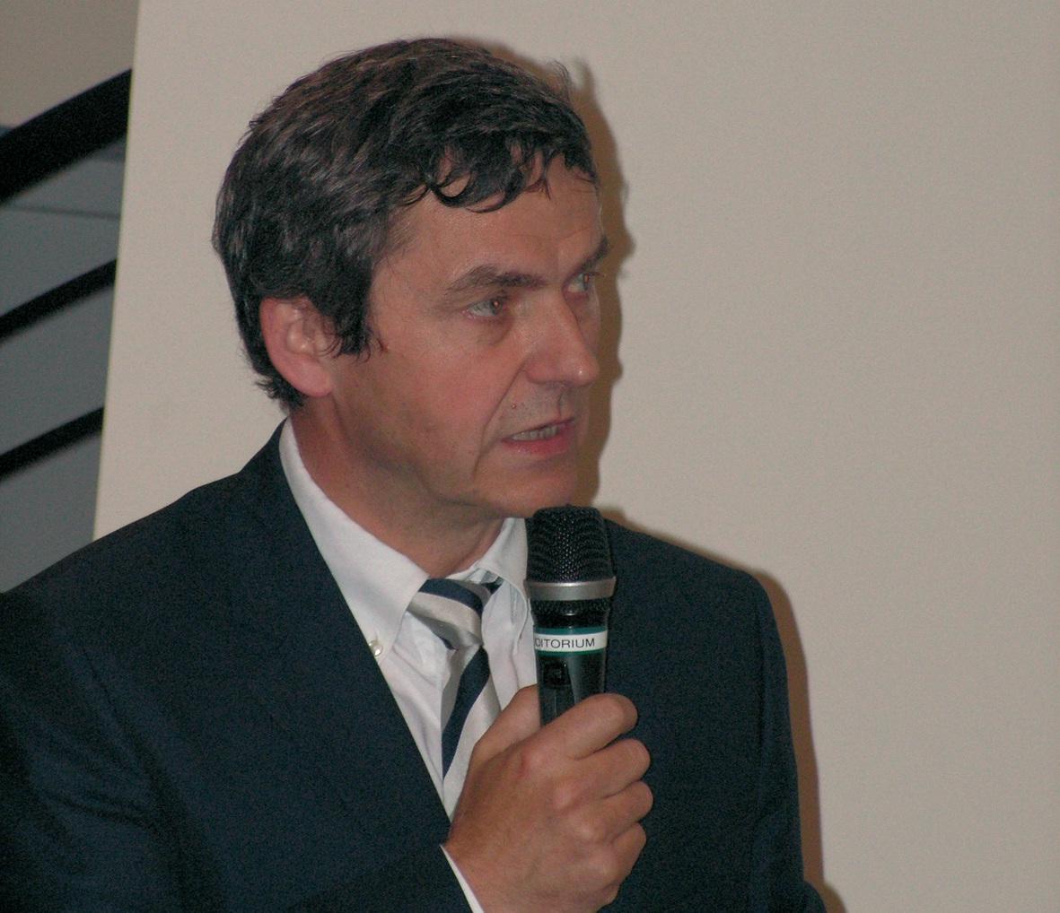 Luc Messien, directeur général du Pôle Nord- Pas-de-Calais automobile.