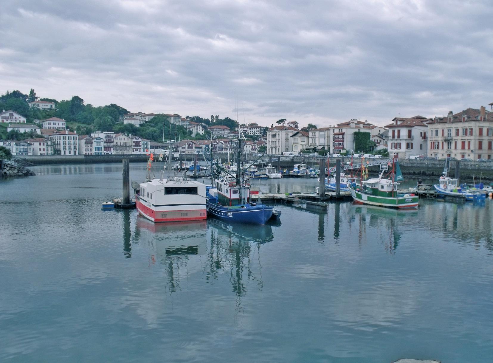 Le port de Saint-Jean-de-Luz.