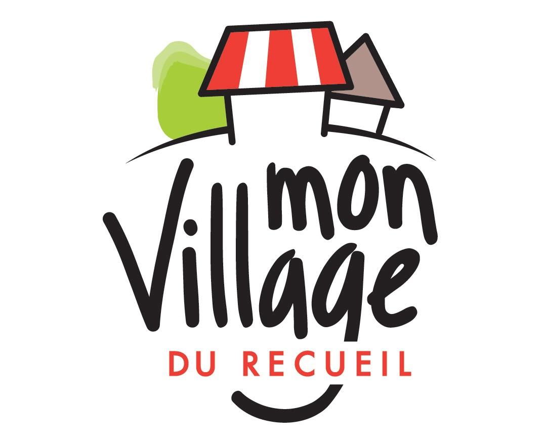 """Le logo """"Mon village du Recueil""""."""