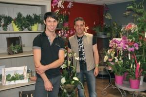 Jimmy Lucas et Grégory Debas font rimer fleur et créativité.