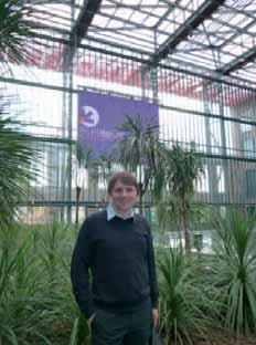 Thibaut Lemay pose dans le hall d'EuraTechnologies où Mazeberry se développe.
