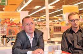 Alexandre Dupriez, directeur général de l'enseigne Picwic (à gauche) et Arnaud Delepouve, directeur marketing.