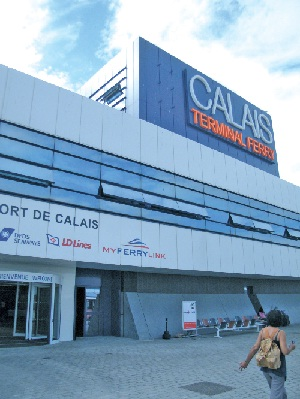 La ligne Calais-Douvres compte désormais trois compagnies maritimes.