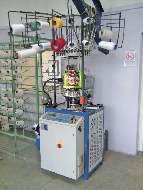 Une des machines conçues avec le soutien du pôle UP-tex.