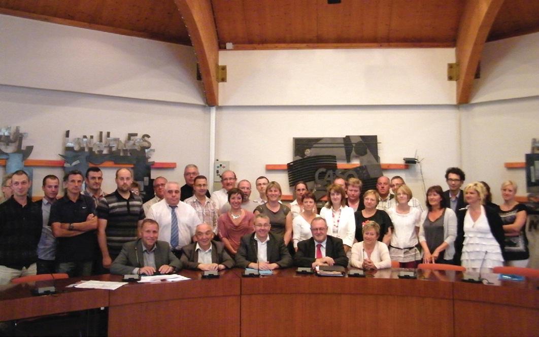 Une soixantaine de personnes ont assisté à la dernière réunion de mise au point du lancement de l'extension du réseau Casobus.