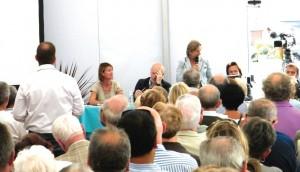 Réunion publique relative aux aménagements des abords du front de mer et du fort Risban, le 27 août à Calais.