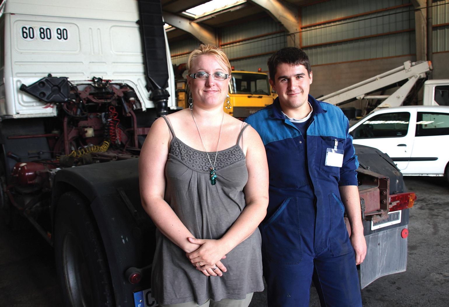 Alice Caron et Stéphane Bart ont repris l'activité et sauver leur emploi.