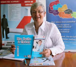 Nadine Wullens est la présidente de Cerfrance Nord-Pas-de-Calais depuis 2010.