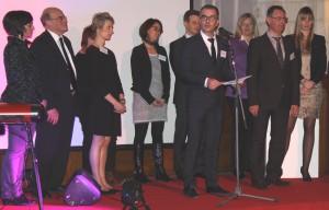 Marc-Emmanuel Wibaut, le nouveau directeur de Fidal Arras, a présenté toute son équipe.