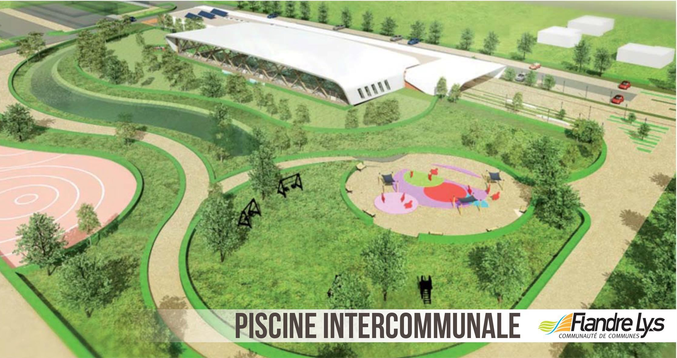 Une piscine pour la communaut de communes flandres lys for Piscine estaires