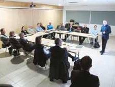 Des réunions thématiques ont déjà été organisées. Elles se tiennent chaque trimestre.
