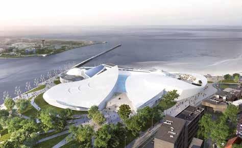 Le projet architectural retenu concilie la dimension de l'impact de l'océan avec l'histoire maritime de Boulogne.