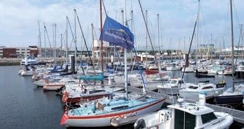 """Avec 470 anneaux, le port de plaisance de Boulogne-sur-Mer est l'un des cinq de la Côte d'Opale concernés par la campagne """"Echo-Gestes"""" 2014. Un appel à manifestations d'intérêt a été lancé pour porter sa capacité à 2 500."""