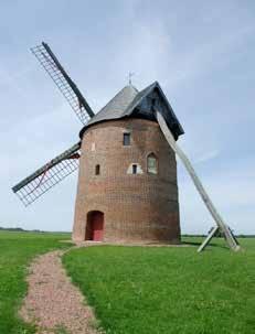 On peut tout financer grâce au crowdfunding. Ici la rénovation d'un vieux moulin flamand par une association villageoise.