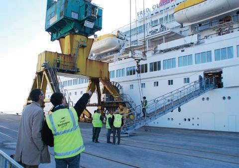 Des escales appréciées par les professionnels portuaires.