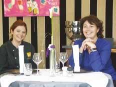 Joanna Dechy et Dorothée Sauvage aux manettes culinaires d'Ô Plaisir des Mets.