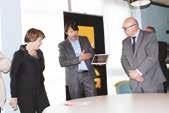 Anne-Lise Dufour et Laurent Vitoux ont activé la 4G sur tablette avec une facilité déconcertante.