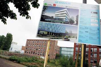En décembre 2015, Crédit agricole consumer finance regroupe les collaborateurs de ses sites de Lille-Carnot et de La Madeleine et d'Agence développement dans un nouvel immeuble de 6 001 m2 de plancher, dont la première pierre a été posée le 18 juin dernier.