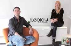 Fred Czysz et Violette Clabec, directeurs associés de Keblow.