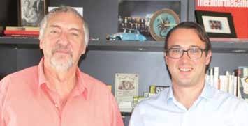 Alain Mahieu et Grégory Retz, directeur d'Initiative Lille Métropole-Sud.