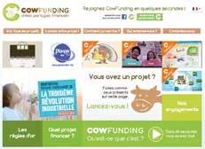Le site Cowfunding,simple de fonctionnement, donne les clés pour réussir un projet de financement participatif. 25% des projets soutenus sur le site sont made in Nord-Pas-de-Calais.
