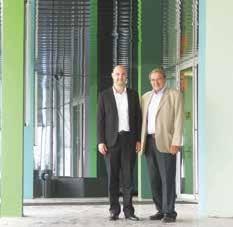 Sylvain Gérard et Bertrand Delesalle accompagnent avec passion les futurs porteurs de projets en lien avec les textiles innovants.