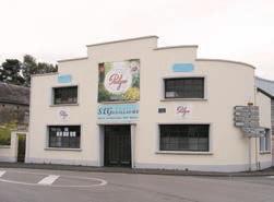 La façade de l'entreprise, implantée dans la commune de Bousies, proche de Landrecies. L'ancienne chaudronnerie a laissé la place à la Société d'embouteillage Guillaume, mais c'est toujours la même famille qui dirige l'activité.