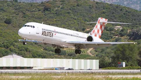 Volotea opère avec des Boeing 717 de 125 sièges.
