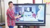 Un des cofondateurs de Neitiv, Matthieu Giorgini, 37 ans, présente la toute nouvelle solution de communication instantanée Kickle.