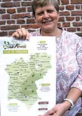 Elisabeth Debruille, vice-présidente de la Communauté de communes du Pays de Mormal, chargée du développement économique.