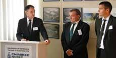 Jean Fixot, président de la SAS Chimirec Norec, à Ecques le 19 septembre dernier.