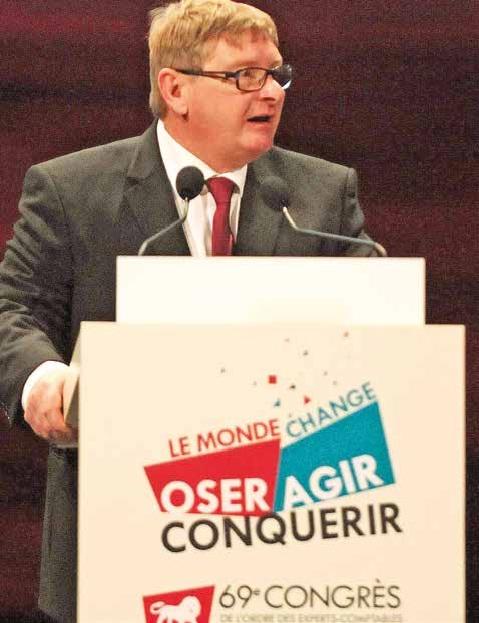 """""""Nous n'avons pas attendu qu'on vienne nous chercher pour avancer !"""" Joseph Zorgniotti, président du Conseil supérieur de l'ordre des experts-comptables."""