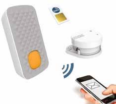 A partir de janvier 2015, chaque foyer devra être équipé d'un détecteur de fumée. Texio propose le plus petit détecteur radio au monde qui, en plus, vous appelle.