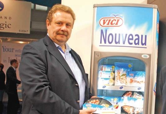 Philippe Tuffery, directeur général de CS France, un spécialiste du surimi.