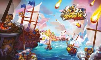 Tropical Wars est accessible en test en France et sera bientôt sur un marché très international : Vertical traduit généralement ses jeux dans dix à douze langues.