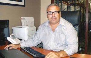 Philippe Lallier, ancien fonctionnaire de police, est à présent à la tête d'un groupe comptant près de 100 collaborateurs.